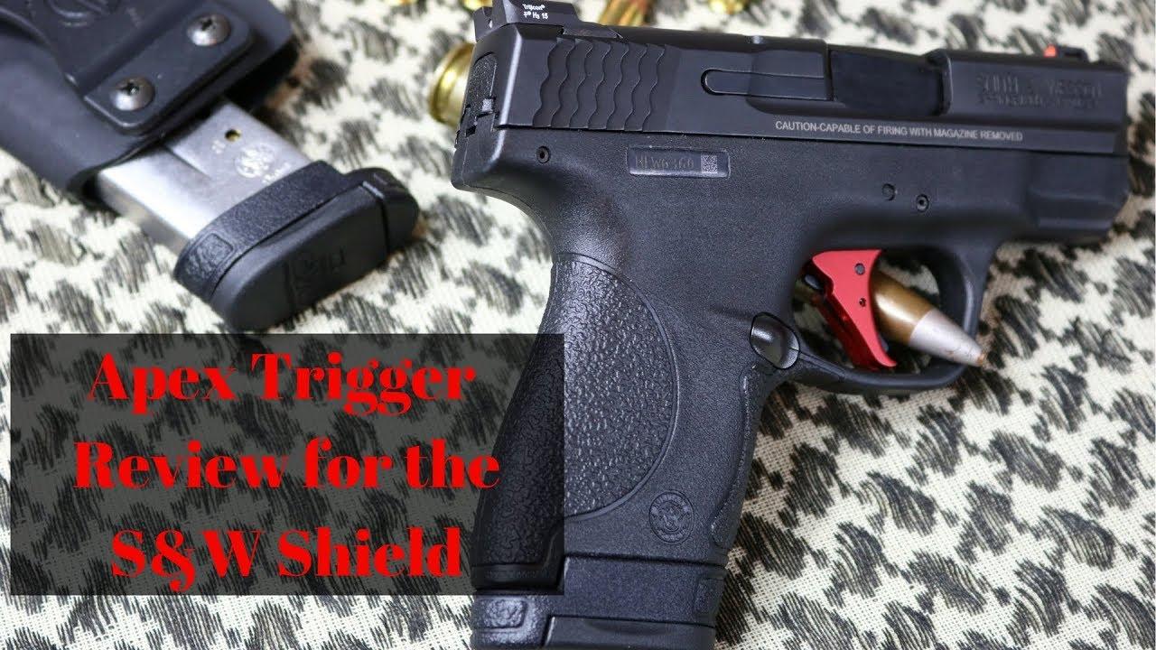 APEX Trigger Upgrade - S&W M&P Shield