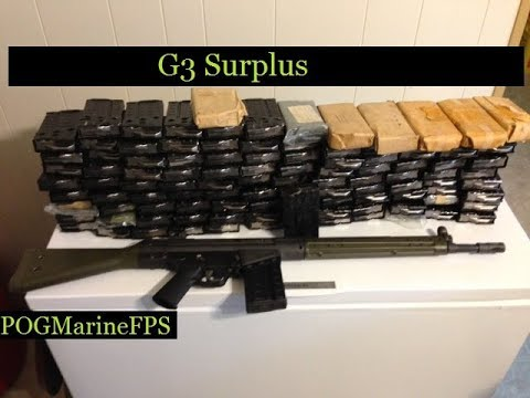 Surplus Magazines for the G3 C308 PTR-91 Semi Auto 308 Battle Rifle