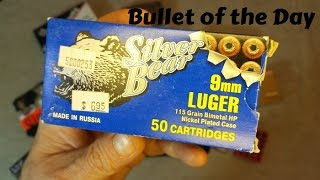 Bullet of the Day: 9mm Silver Bear