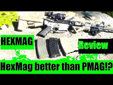 Hexmag better than the PMag? 300 blackout and 5.56 capable in the ar15 rifle