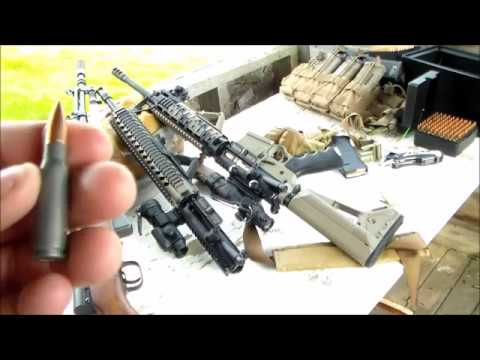 300 Blackout VS 7.62x39 TEST 223 and 5.56 ar15 sks by JSD Arms