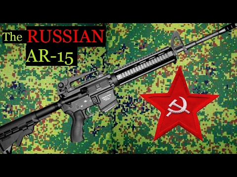 Russian AR-15 Molot Izhmash - ENGLISH Штурмовая винтовка 5.56 223 Carbine Rifle - Vepr 15
