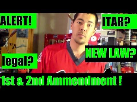 Obama Executive order 1st amendment 2nd amendment rights infringed ITAR
