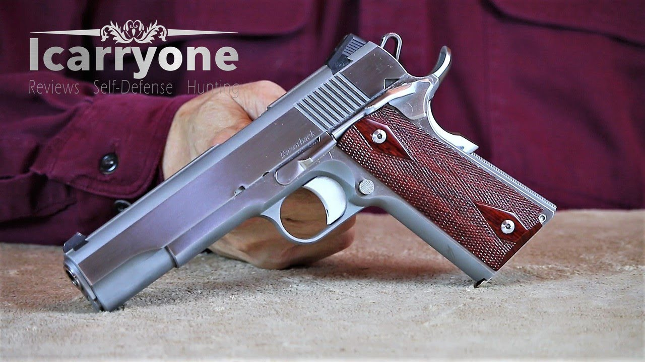 10mm 1911's - My Thoughts About Them