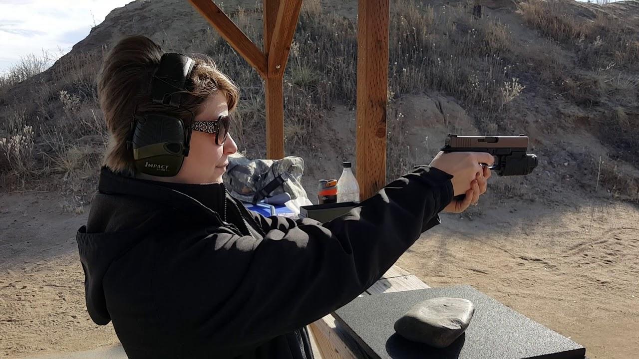 Glock 19 Gen 4, Midwest Cerakote Modded