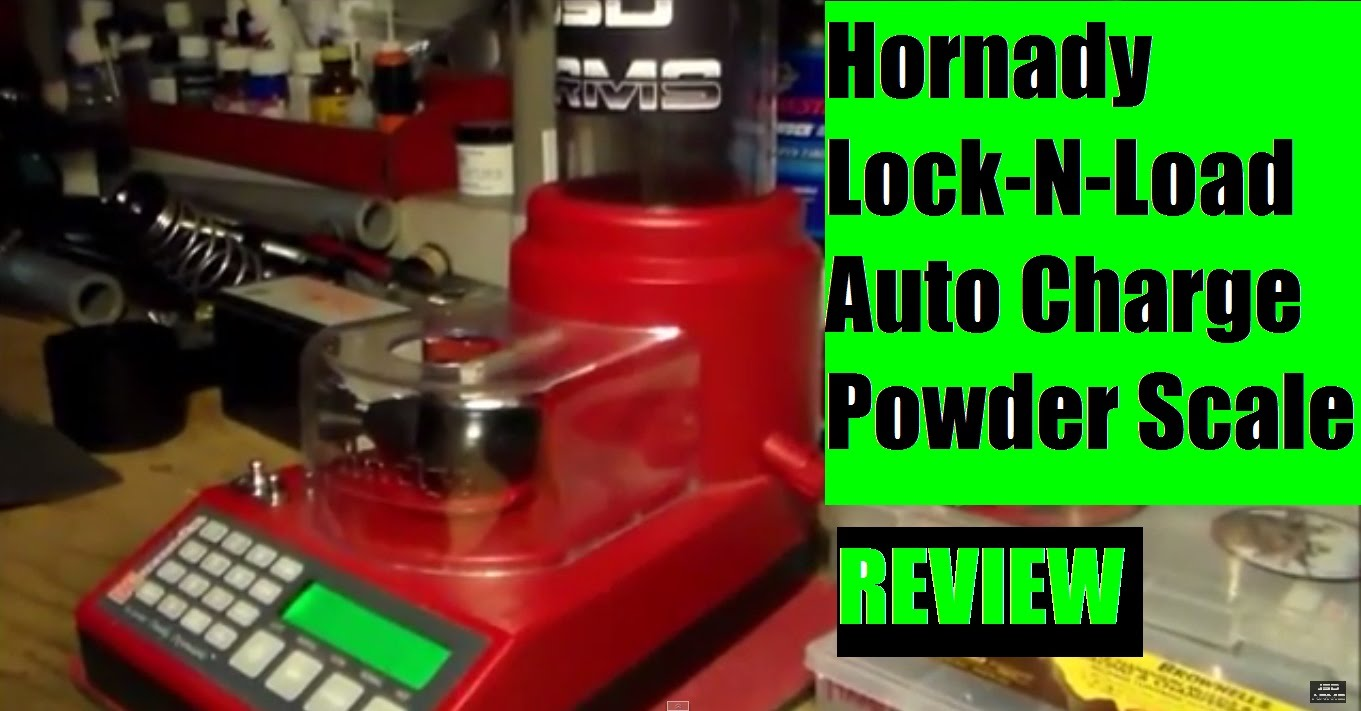 Hornady Lock-N-Load Auto Charge Powder Scale and Dispenser Review by JSD Arms