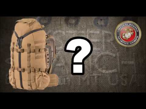 Marine Corps NEW Experimental Backpack Assault pack 3 day pack bugout bag Mystery Ranch