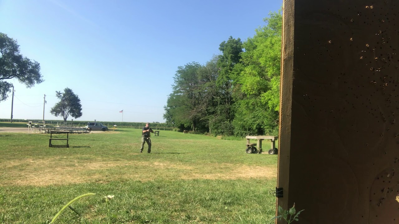 Middle Aged at the Range