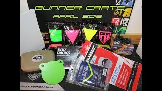 Gunner Crate UNBOXING April 2018 Competitive Shooter Review