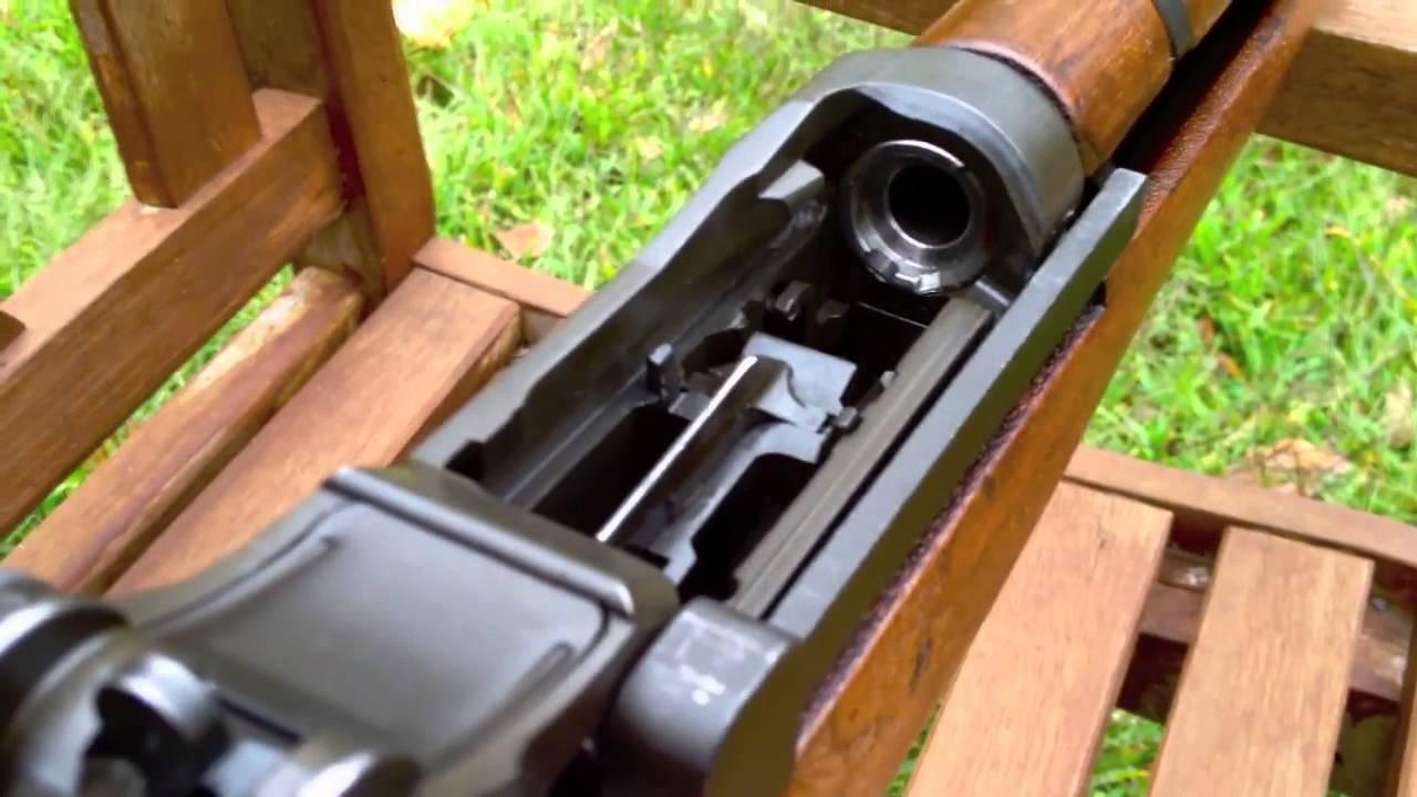 M1 Garand Close Up