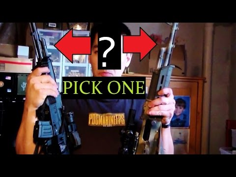 The AK 47 / 74 Dilemma Making the Choice - Recommendations - Which Rifle?