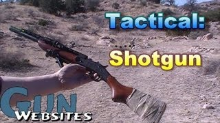 Dynamically Shooting a Tactical Shotgun: Operator Apps