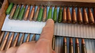 7.62x39mm Case Colors  - Bullet of the Day #201