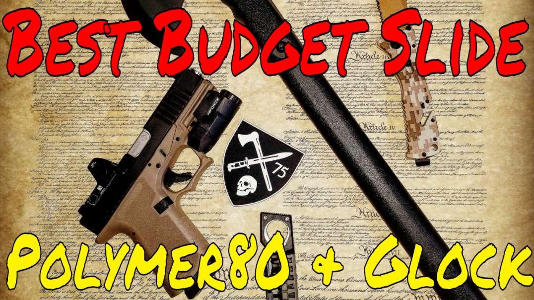 Glock and Polymer80 Brownells Slide! Best Budget Slide Ever! Coupon Codes 🔥🔥