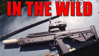 In The Wild: RDB First 500 ROUNDS Suppressed (RAW FOOTAGE )