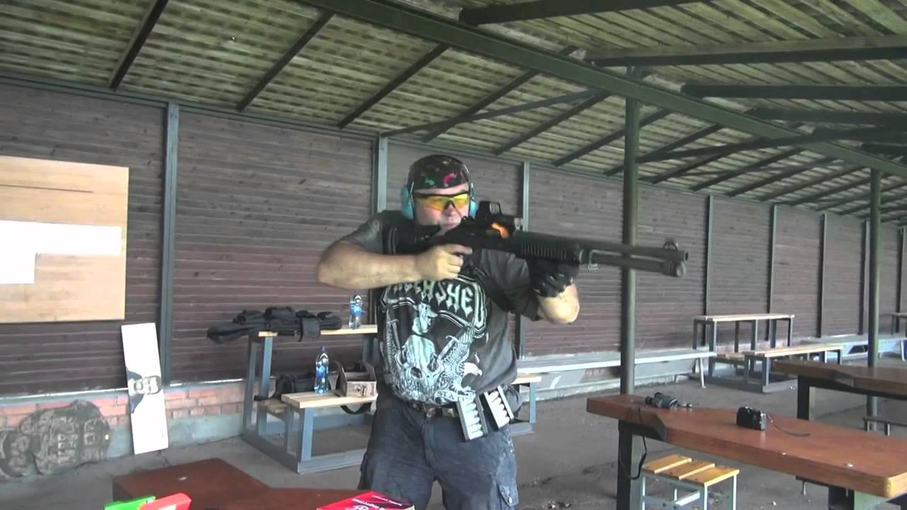 Crazy Ivan with the Benelli M4!