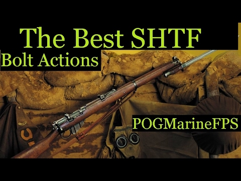 SHTF Military Bolt Action Rifles  - Series  - EPISODE TWO Top 6 Countdown