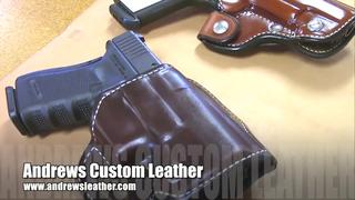 How It's Made Saddle style Holster Throwback Gunsday