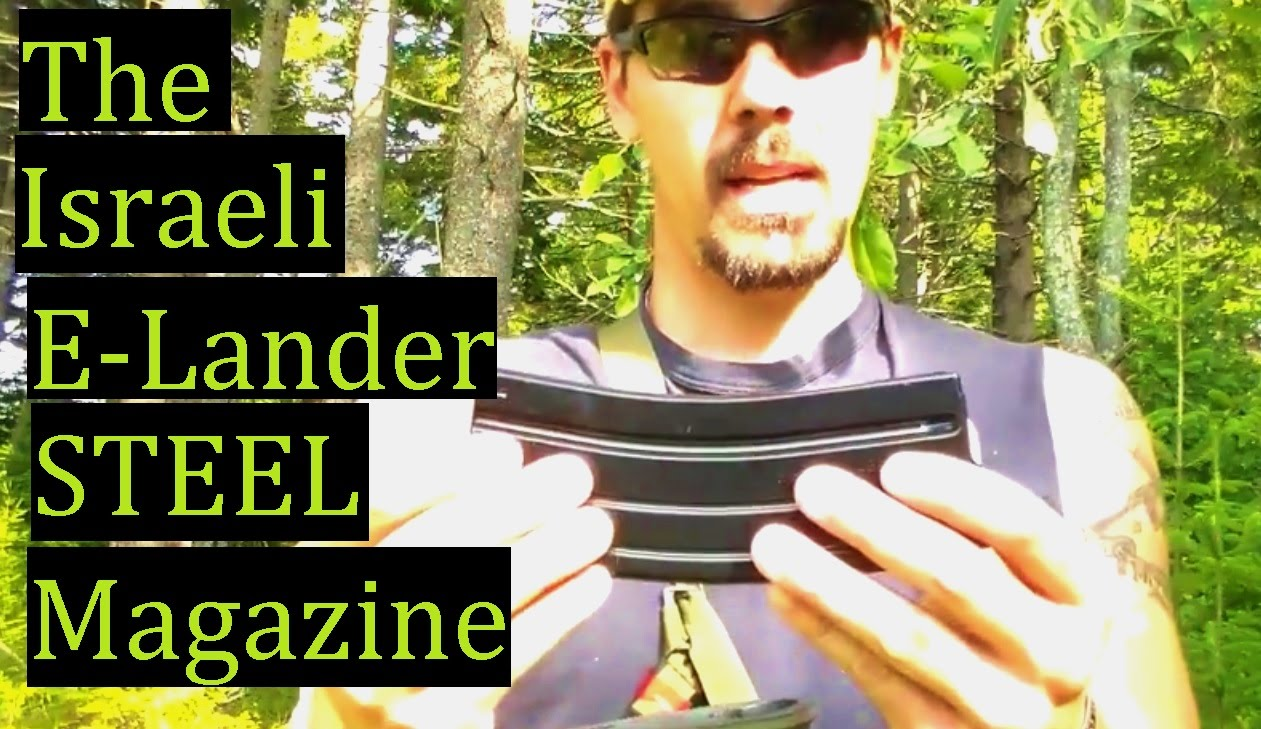 E Lander The improved Israel USGI style Magazine Review AR15