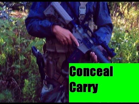 What to do While Conceal Carry in Maine law 2015 Safety is key