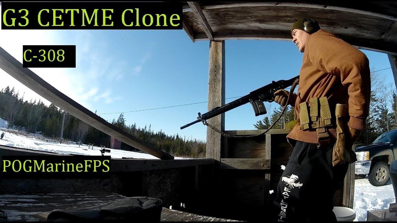 LIVE FIRE C-308 The H&K G3 Clone CETME 7.62