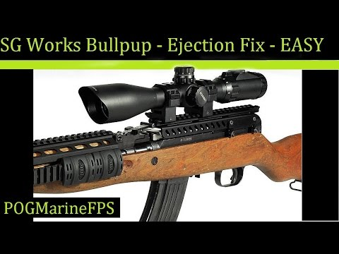 SKS Stove Pipe Fix - Scope Mount Problem - SG works Bullpup issue ~ VERY EASY DIY