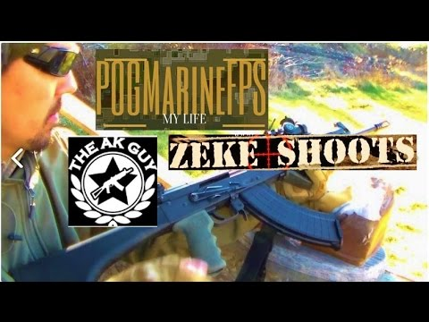 I.O. AK Review / RANT ALERT! LIVE STREAM with Zeke Shoots , The AK Guy & POGMarineFPS