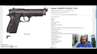 Meet the slightly revised Taurus PT92!