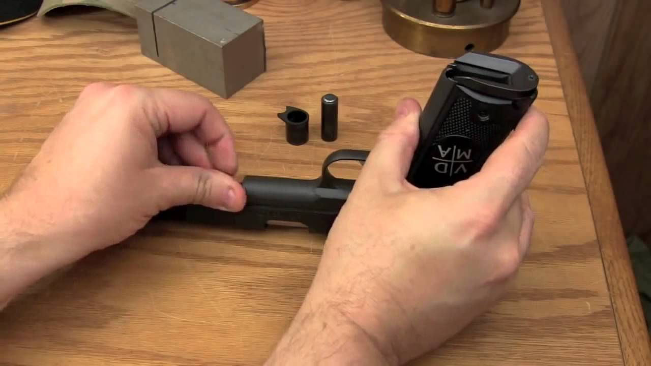 How to Field Strip a 1911 Pistol - HD Video with Clear Audio