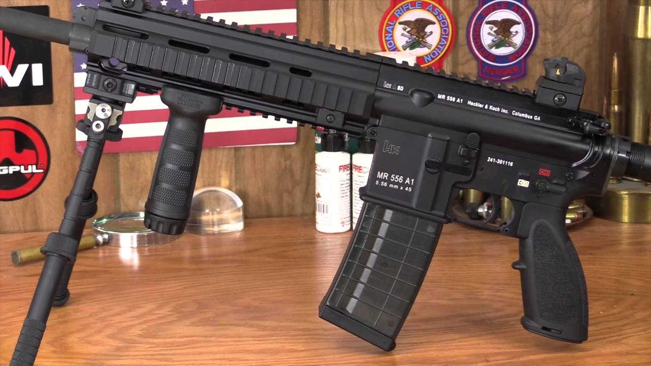 The Heckler & Koch MR556A1 — The Civilian Version of the HK 416