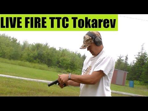 LIVE FIRE of the Tokarev TTC Romanian 7.62x25