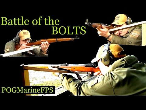 Battle Of The Bolt Actions   Mosin VS Arisaka VS K11   Surplus Rifles Face Off