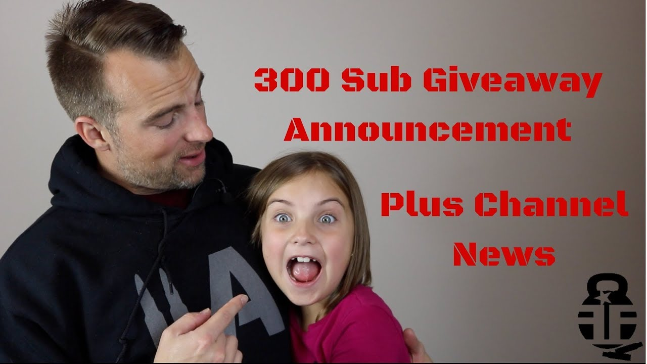 300 Subscriber GAW Announcement + News