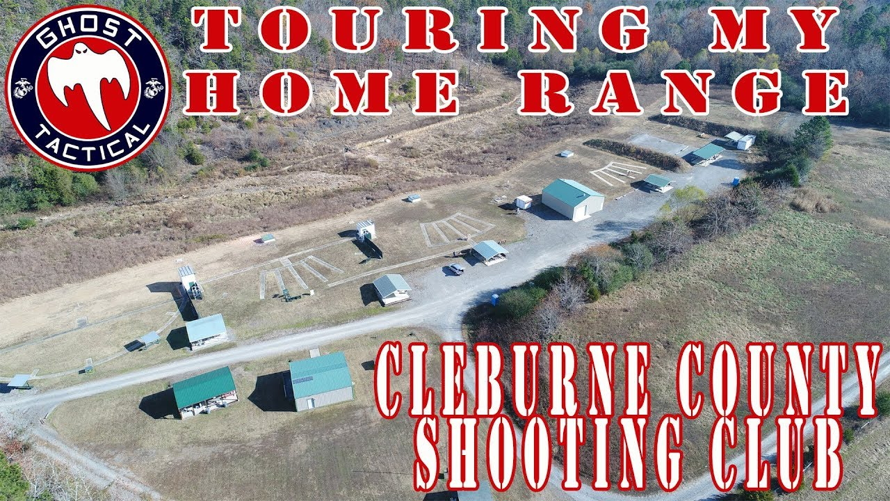 Drone Tour Of My Home Range:  Cleburne County Shooting Club in Heber Springs, Arkansas