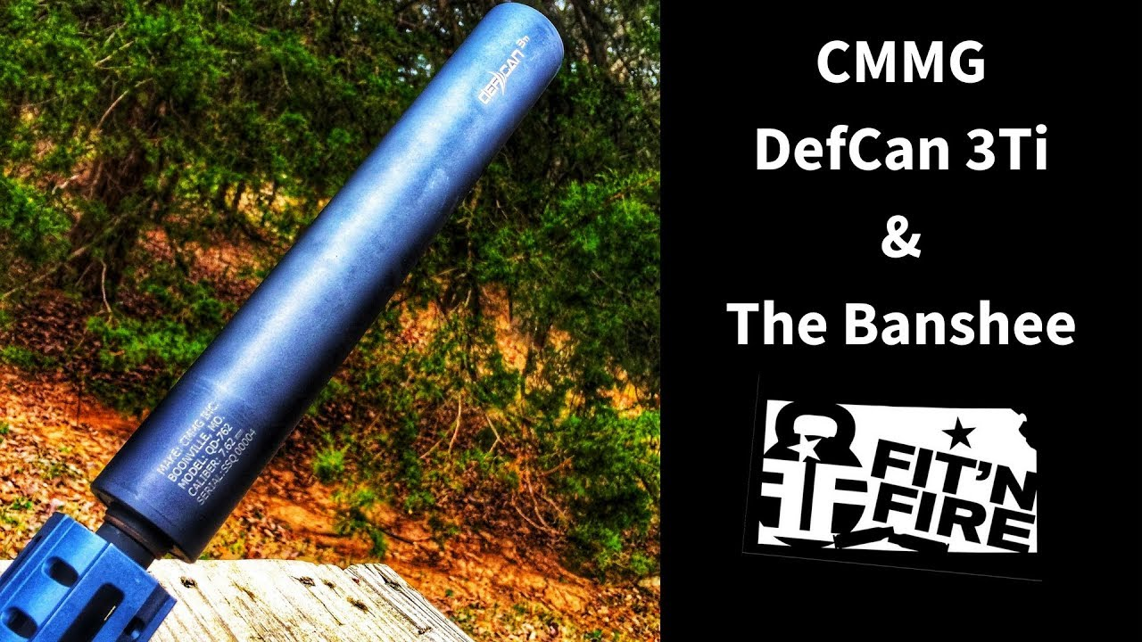 NEW! CMMG DefCan 3Ti & The Banshee 300AAC