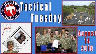 Women in the Marines, Trump Defense Bill, Attracting Shooters to the Range:  #TacticalTuesday  53