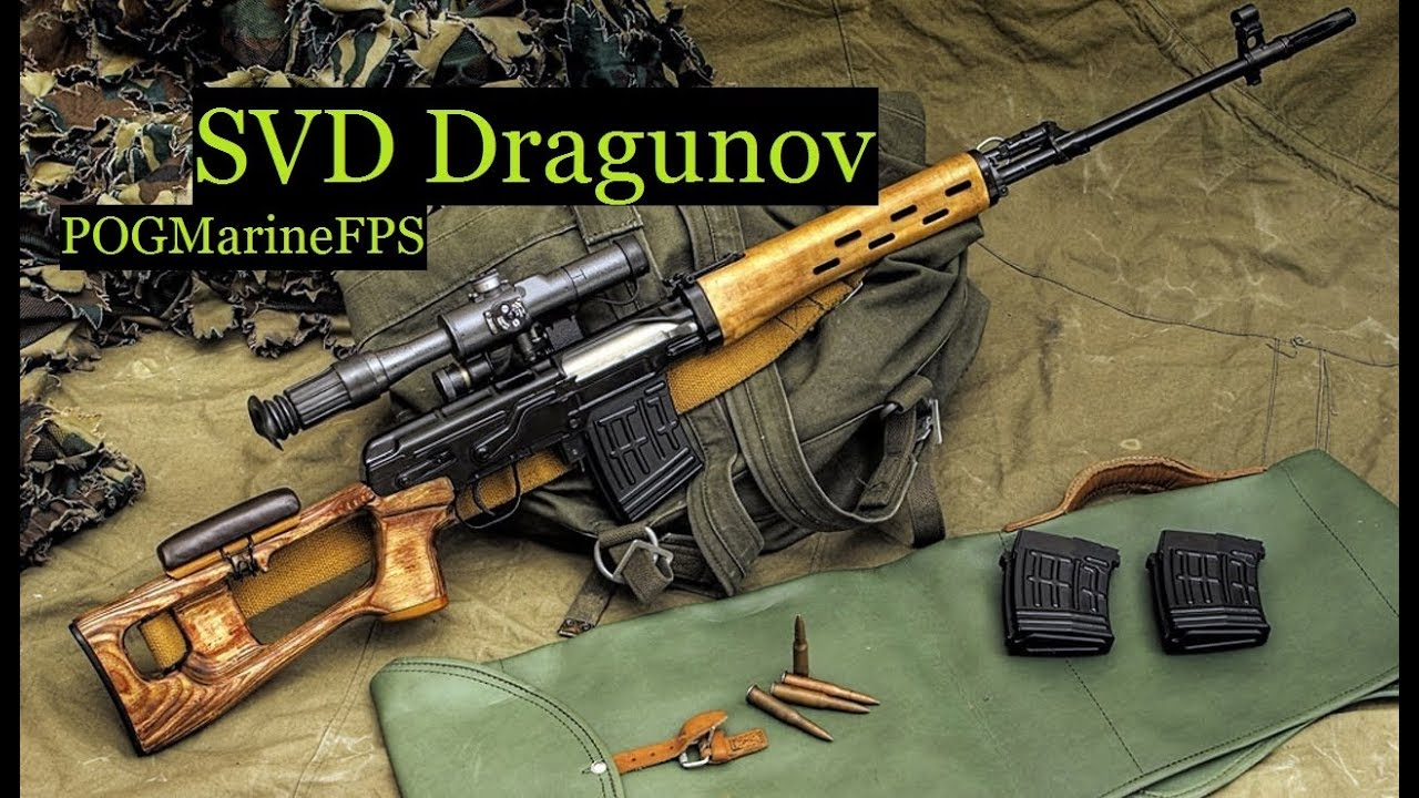 Assembling an SVD Dragunov Marine Corps Foreign weapons class 2017