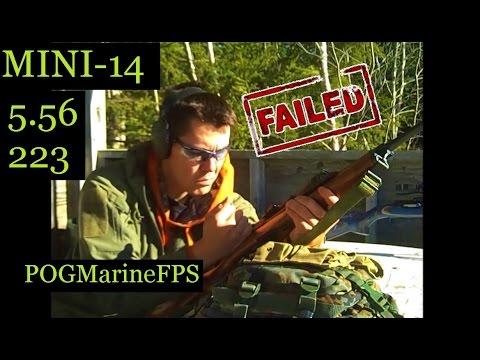 Mini14 - FAILS Twice! Ruger Ranch Rifle - 223 5.56 Semi Auto LIVE FIRE