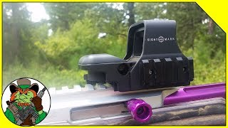 Swapping Sightmark Z Series To The Custom Elite 22 Rifle LIVE