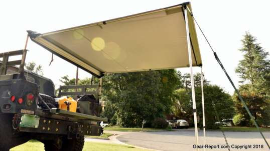 Tepui Tents Overland Jeep Camping Awning Review - Hummer Upgrade