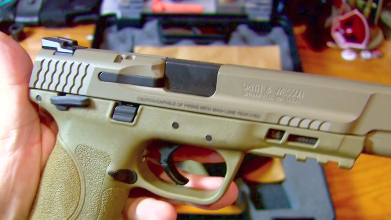 Smith & Wesson M&P M2.0 - FIRST LOOK