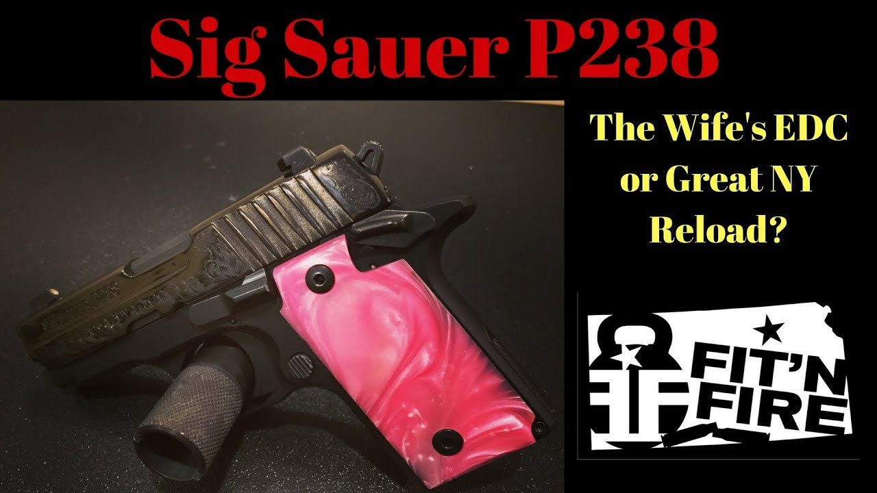 Sig Sauer P238 - Wife's EDC or NY Reload?