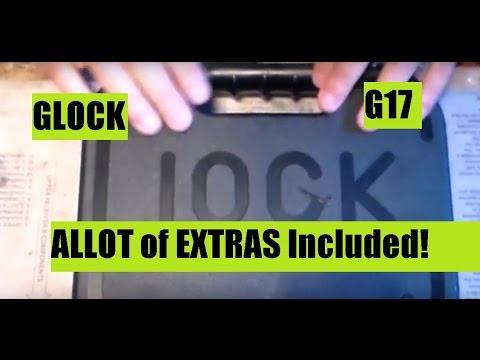 Glock 17 Gen 4 Pistol Unboxing You get ALLOT for very LITTLE
