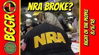 NRA broke?, 9th Circuit Upholds Microstamping, 40 Shot in Chicago, More!