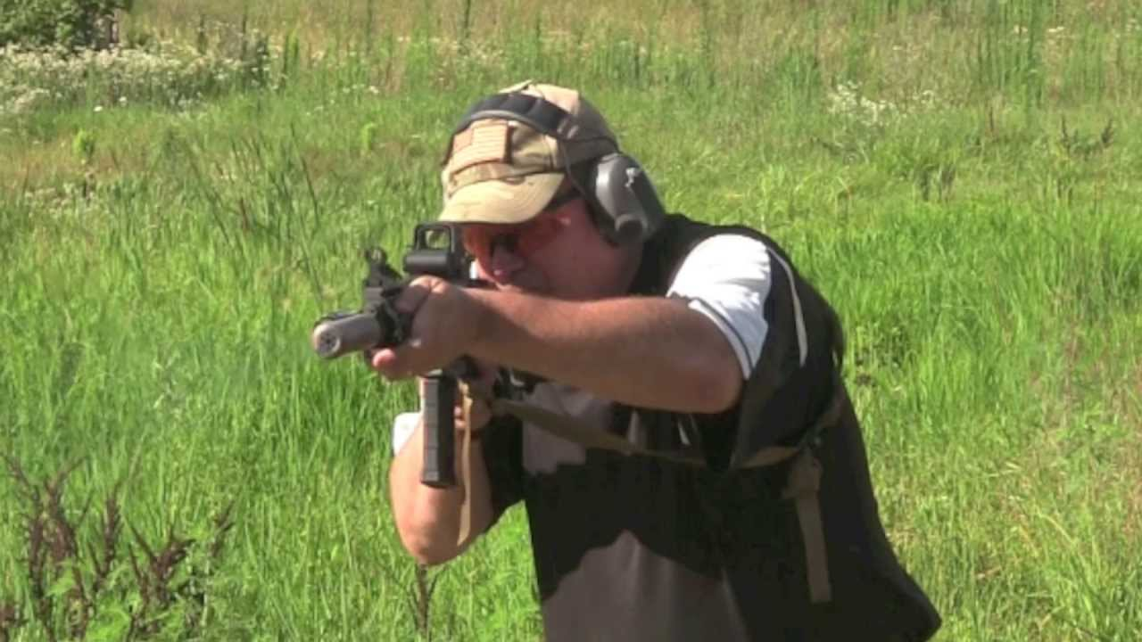 M4 Carbine with Suppressor - Shooting Demonstration