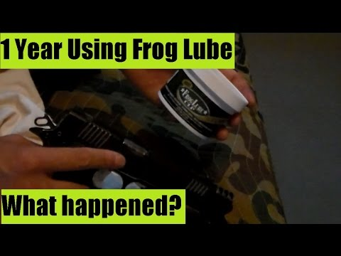 Frog Lube or Corrosion X ? That is the Question