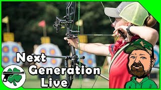 Bayli Honeycutt, Competitive Archer Spotlight - Next Generation LIVE