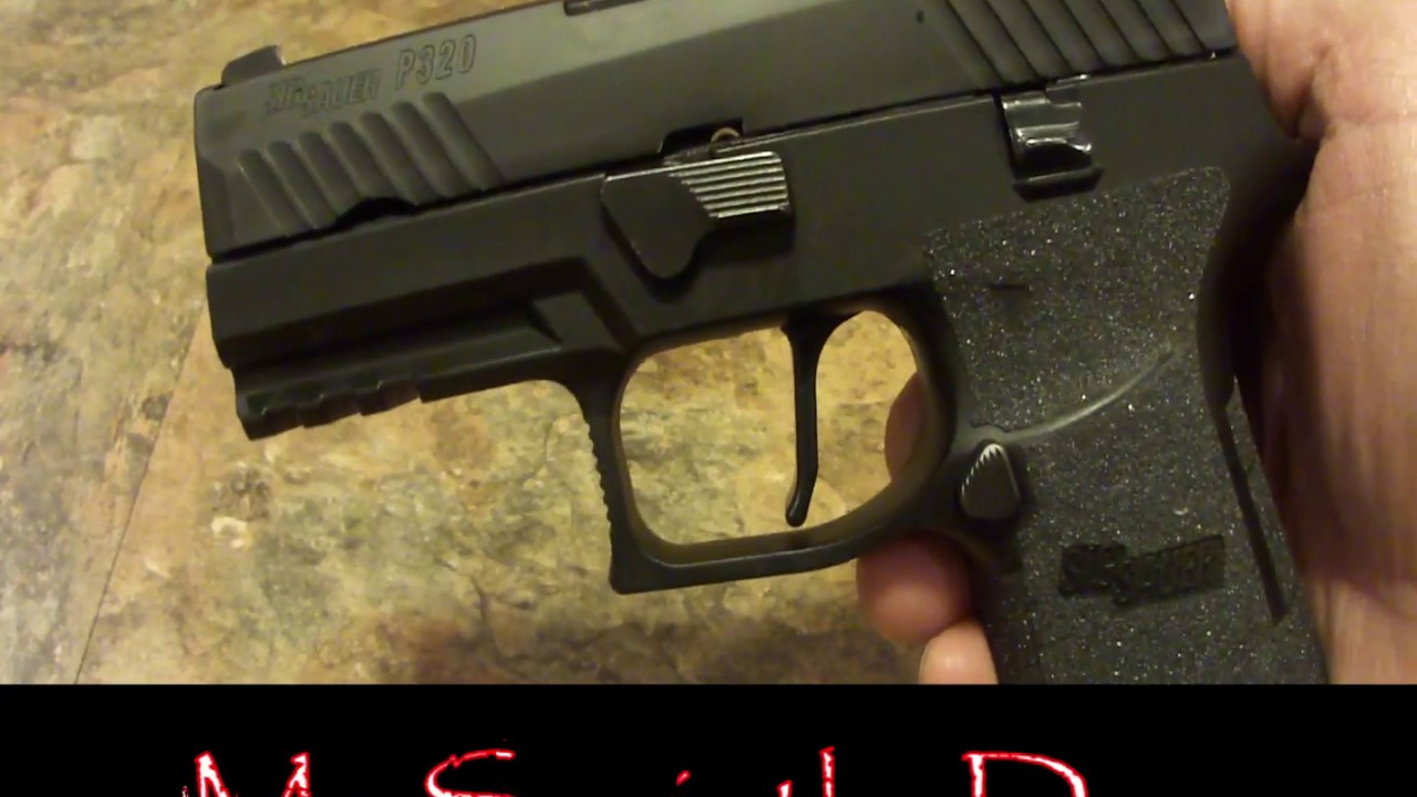 Apex ADVANCED Trigger- SIG P320