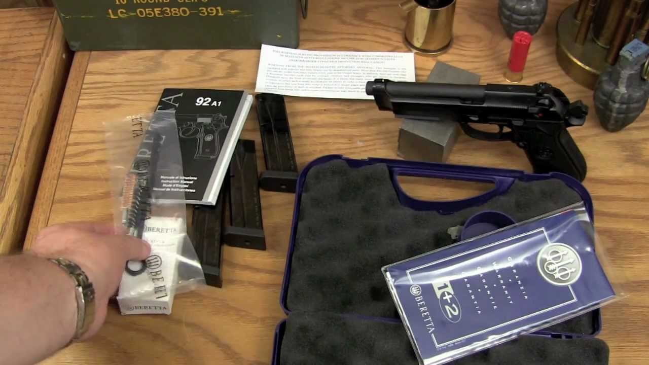 Beretta 92 Unboxing — Nanny State Revealed