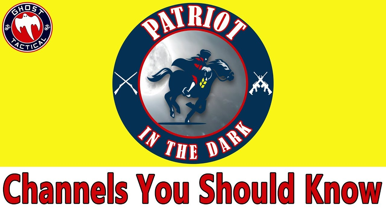 Patriot In The Dark:  Channel Shout-Out:  Visually Impaired Pro Gun Activist:  Check Him Out!!!!